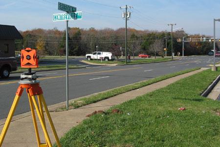 alta land title survey centreville road manassas