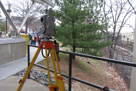 land surveying catholic university dc
